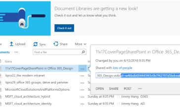 SharePoint Online – My SharePoint Log