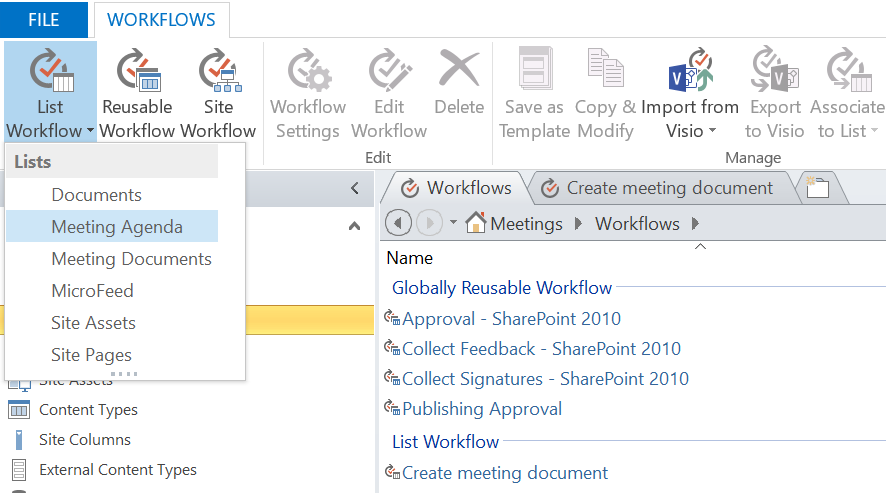 Workflow template sharepoint 2010 image collections for Sharepoint workflow templates download