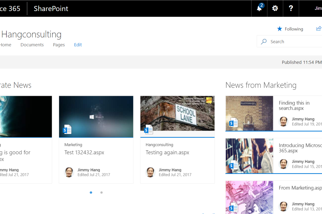 Rollup news from @SharePoint #Communication Sites