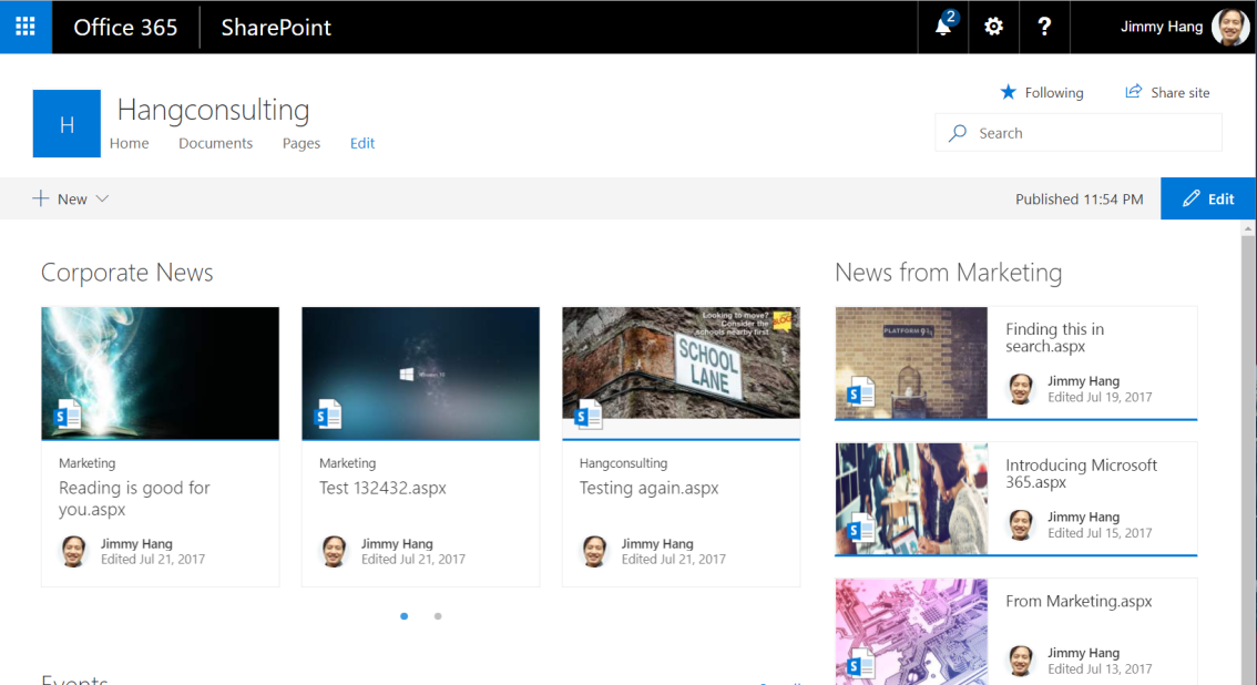 Rollup news from @SharePoint #CommunicationSites