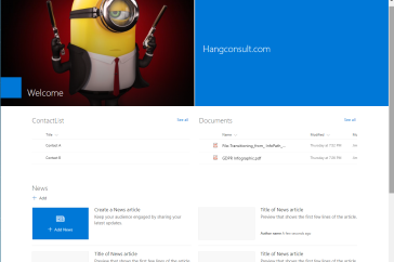 Creating a new Client side Page with PnP-PowerShell – My SharePoint Log