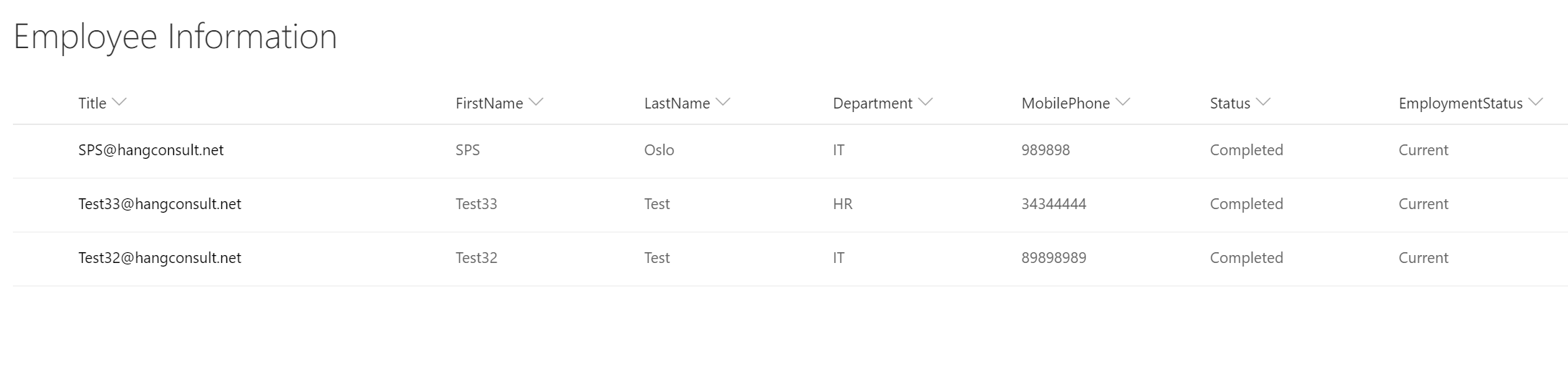 Office365 User Onboarding – MS Forms, Flow, SharePoint Online and